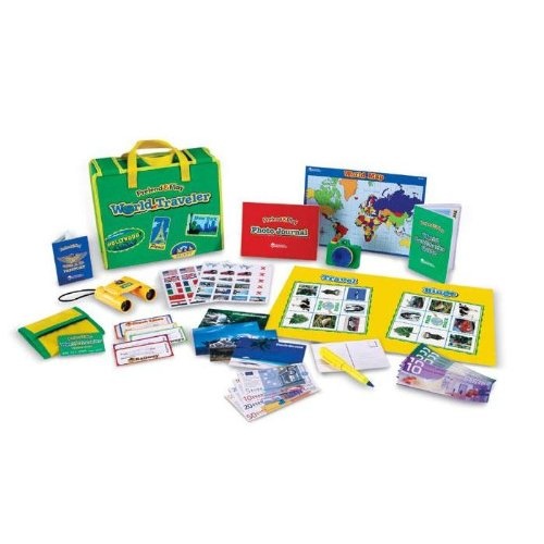 Learning Resources - Pretend & Play  World Traveler Kit