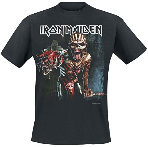 Iron Maiden Ed Heart Europe T-Shirt nero L