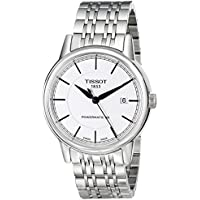 Tissot Men's T Classic Powermatic Analog Display Swiss Automatic Watch - Silver