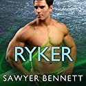 Ryker: Cold Fury Hockey Series #4 Audiobook by Sawyer Bennett Narrated by Cris Dukehart, Graham Halstead