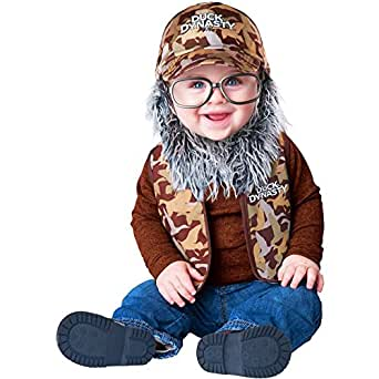 Duck Dynasty: Uncle Si Baby Costume