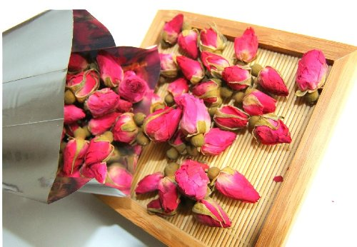 Franz Organic Dried Rose Small Buds Tea - 50G.