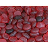 Red Frosted Decorative Glass Stone Rocks