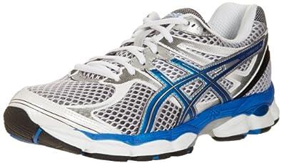 ASICS Men's GEL-Cumulus 14 Running Shoe,Lightning/Jetblue/Black,8 M US