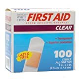 Adhesive Bandages 1&quot; X 3&quot; Box of 100 (BOX)