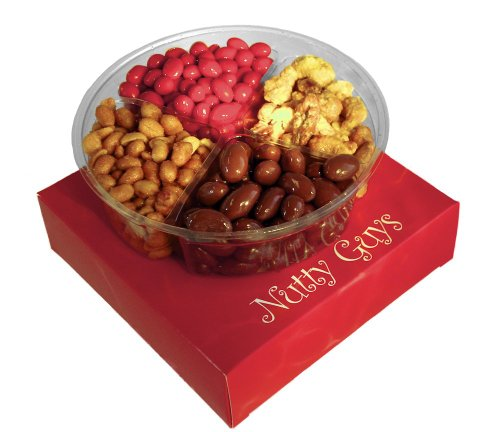 Nutty Guys Holiday Gift Candy and Nut Tray: 1