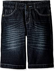 Cherokee Boys' Shorts (267984491_Medium Blue_8 - 9 years)