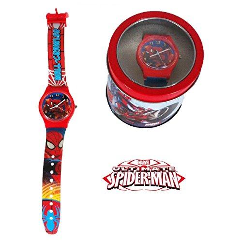 SPIDERMAN - Orologio da Polso Analogico in Box di metallo