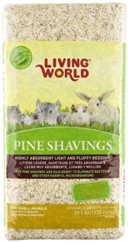 Living World Pine Shavings, 1220-Cubic Inch (Wood Shavings Bedding compare prices)