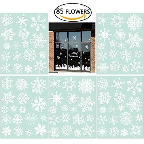 85-fensterdeko-schneeflocken-nicexmas-fensterbilder-schneeflockenweiss-statisch-haftende-pvc-aufkleb