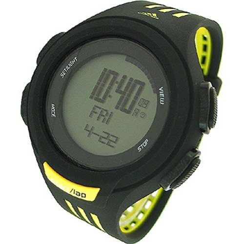 Adidas Men's ADP3076 Black Polyurethane Quartz Watch with Grey Dial