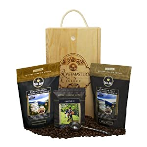 Boca Java Roast to Order Coffee, Roastmaster's Select - 100% Certified Jamaican Blue Mountain Coffee Gift Set - with Ground Coffee