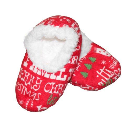 Baby Christmas Cheer Footies Sleepytimepjs (Med) front-778725