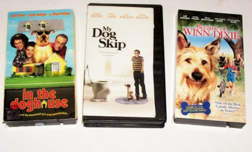 Dog Adventures Collection #2: My Dog Skip; In The Doghouse; Because Of Win-Dixie (3Pk)
