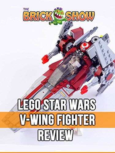 LEGO Star Wars V-Wing Fighter Review (6205)