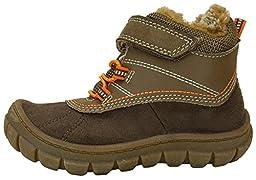 OshKosh B\'Gosh Marley2 Backpacking Boots (Toddler/Little Kid) (12 M US Little Kid, Olive with Velcro Strap)