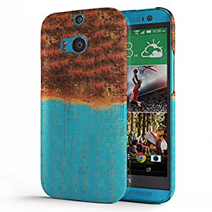 Koveru Back Cover Case for HTC One M8 - Brushes Pattern