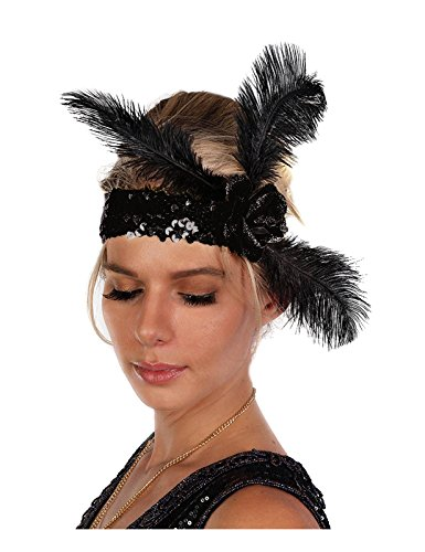 Womens-Sequin-Flapper-Headband-with-Feathers