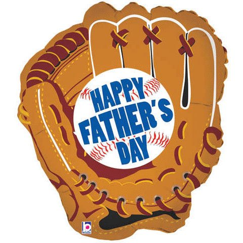 "28"" Father's Day Mitt Helium Shape"
