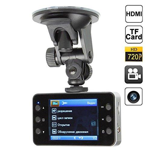 "CAR DVR HD 720P 2.4 ""LCD Display Videokamera DVR Auto Recorder Bewegungserkennung mit Mikrofon, Super-Nachtsicht ,MAX 32G"