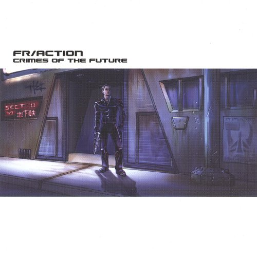 Original album cover of Crimes of the Future by FR/ACTION