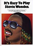 echange, troc Stevie Wonder - It's Easy To Play Stevie Wonder