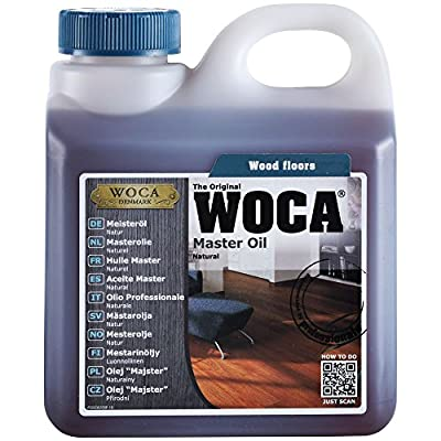 Woca Denmark Master Floor Oil Natural - Suitable for All Types of Wood Floors