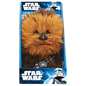 "Underground Toys Star Wars 9"" Talking Plush - Chewbacca"