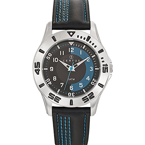 Certus Unisex Quartz Watch Analogue Display and Synthetic Strap 647573