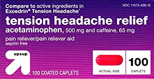 Tension Headache Relief 100ct,