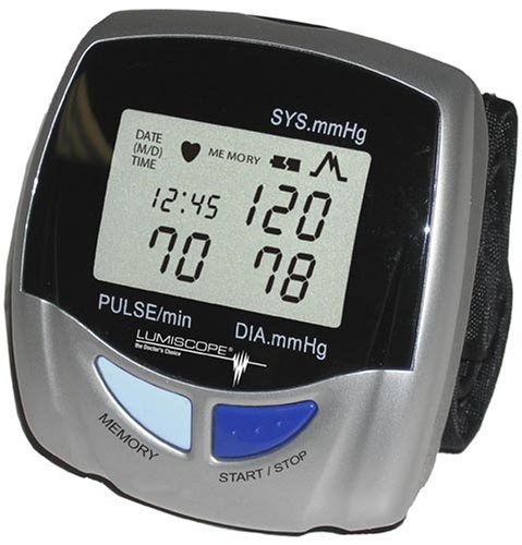 Cheap Lumiscope 1143 Automatic Wrist Blood Pressure Monitor (B000RH8DLE)