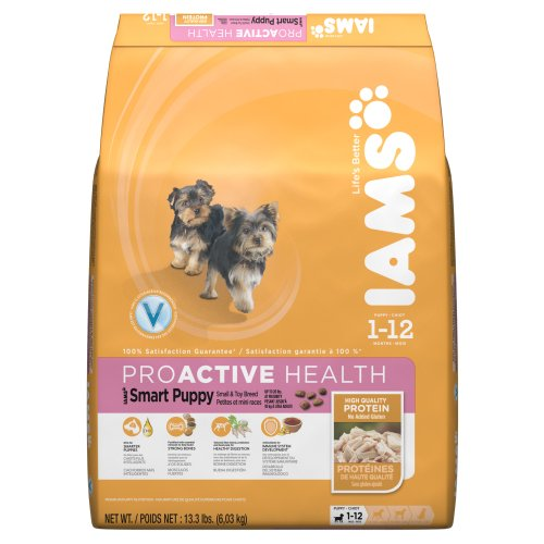 Iams Proactive Health Smart Puppy Small And Toy Breed Premium Puppy Nutrition, 13.3 Pound