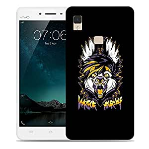 Snoogg Wreck Yourself Designer Protective Back Case Cover For VIVIO V3 MAX