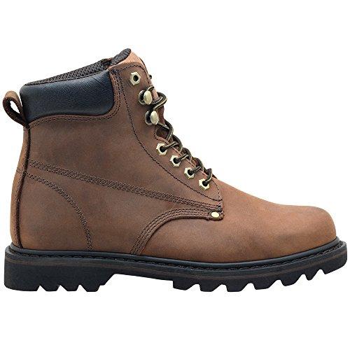 Ever Boots Quot Tank Quot Men S Soft Toe Oil Full Grain Leather