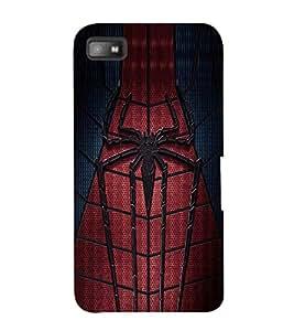 EPICCASE spider man Mobile Back Case Cover For BlackBerry Z10 (Designer Case)