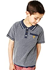 Autograph Pure Cotton Knitted Polo Shirt