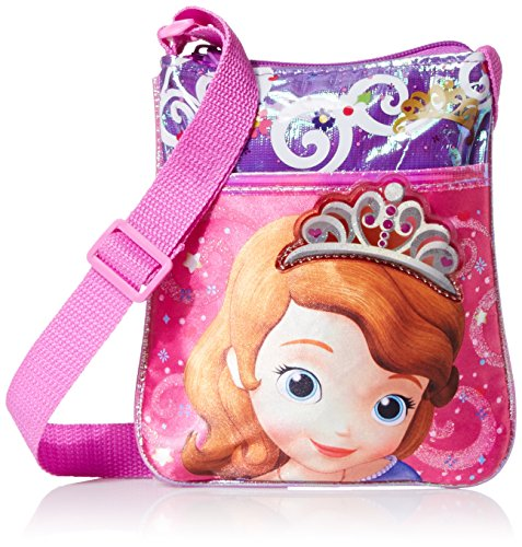 Disney Girl's Sofia Passport Crossbody - 1