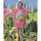Childrens/Kids Fifi and the Flower Tots Poncho Cotton Beach Towel