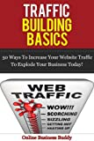 Traffic Building Basics; 50 Ways to Increase Your Website Traffic and Explode Your Business Today! (web design, web marketing, marketing)