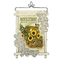 Heritage Lace Welcome Lord Bless 14-Inch by 17-Inch Café Wall Hanging