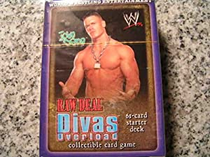 WWE WWF Wrestling Raw Deal CCG TCG Starter Theme Deck -- JOHN CENA Edition