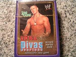 WWE WWF Wrestling Raw Deal CCG TCG Starter Theme Deck -- JOHN CENA Edition