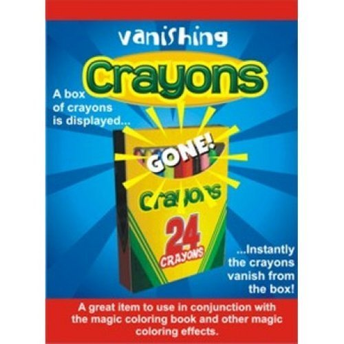 Deluxe Vanishing Crayons Magic Trick