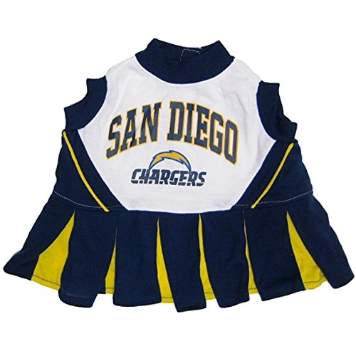 San Diego Chargers Costume: San Diego Chargers Cheer Leading XS Apparel Accessories