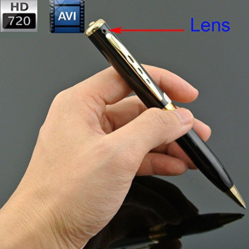 Versteckter Kamera, inkl. 8GB SD-Karte * Spionage Micro USB Mac/Windows PC/Computer Anschluss Digitale HD Camcorder Überwachungskamera Security Audio-Video-Tracking Nanny Cam Mini DVR