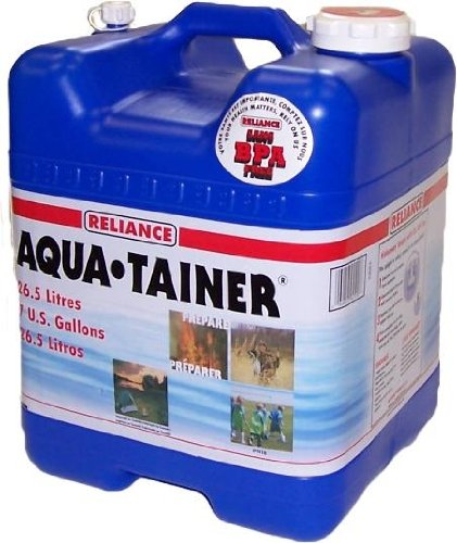 Reliance Products Aqua-Tainer 4 Gallon Rigid Water Container (4 Gal Water Container compare prices)