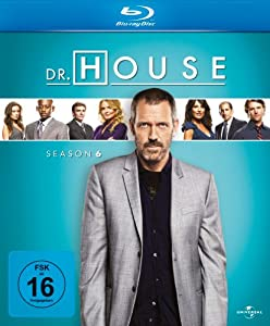 Dr.House Season 6 [Blu-ray] [Import allemand]