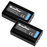 MaximalPower Replacement Battery for Nikon EN-EL1 and Nikon Coolpix 880/995/4800/5000/5700 and 8700 Cameras (Pack of 2)