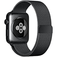 Swees 42mm Milanese Loop Stainless Steel Bracelet Wrist Band