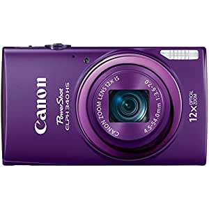 Canon PowerShot ELPH 340 HS 16MP Digital Camera - Wi-Fi Enabled (Purple)